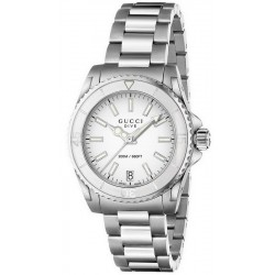 Kaufen Sie Gucci Damenuhr Dive Medium YA136402 Quartz