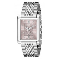 Kaufen Sie Gucci Damenuhr G-Timeless Rectangular Small YA138502 Quartz