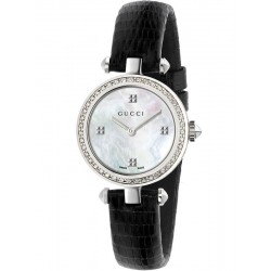 Kaufen Sie Gucci Damenuhr Diamantissima Small YA141507 Diamanten Perlmutt Quartz
