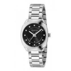 Gucci Damenuhr GG2570 Small YA142503 Diamanten Quartz
