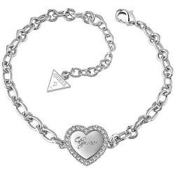 Kaufen Sie Guess Damenarmband Iconic UBB21516-S Herz