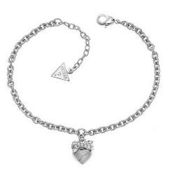 Kaufen Sie Guess Damenarmband Iconic UBB21570-S Herz