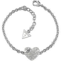 Guess Damenarmband Glossy Hearts UBB51492 Herz