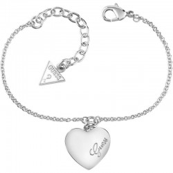 Guess Damenarmband Heartbeat UBB61043-S Herz