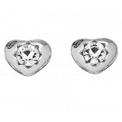 Kaufen Sie Guess Damenohrringe Crystals Of Love UBE51415 Herz