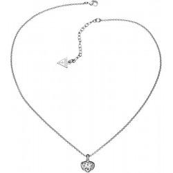 Guess Damenhalskette Crystals of Love UBN51419 Herz