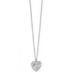 Guess Damenhalskette Glossy Hearts UBN51471 Herz