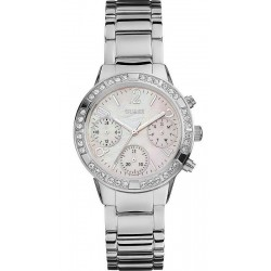 Kaufen Sie Guess Damenuhr Mini Glam Hype W0546L1 Chrono Look Multifunktions