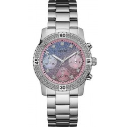 Guess Damenuhr Confetti W0774L1 Chrono Look Multifunktions