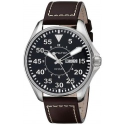 Hamilton Herrenuhr Khaki Aviation Pilot Quartz H64611535
