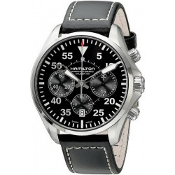 Hamilton Herrenuhr Khaki Aviation Pilot Auto Chrono H64666735