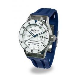 Locman Herrenuhr Montecristo Professional Diver Automatik 051300WBWHNKSIB