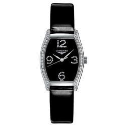 Longines Damenuhr Evidenza L21550572 Diamanten Quartz