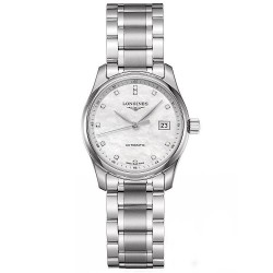 Kaufen Sie Longines Damenuhr Master Collection L22574876 Diamanten Perlmutt Automatik