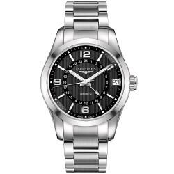 Longines Herrenuhr Conquest Classic L27994566 GMT Automatik
