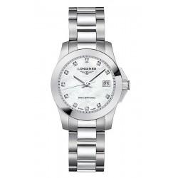 Kaufen Sie Longines Damenuhr Conquest Classic L32774876 Diamanten Perlmutt Quartz