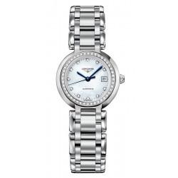 Kaufen Sie Longines Damenuhr Primaluna L81110876 Diamanten Perlmutt Automatik