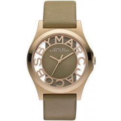 Marc Jacobs Damenuhr Henry Skeleton MBM1245