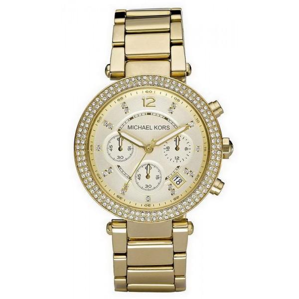 Kaufen Sie Michael Kors Damenuhr Parker MK5354 Chronograph