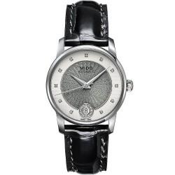 Mido Damenuhr Baroncelli II M0072071603601 Diamanten Automatik