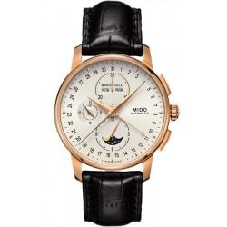 Kaufen Sie Mido Herrenuhr Baroncelli II Chronograph Moonphase Automatic M86073M142