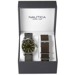 Nautica Herrenuhr NCC 01 Date Box Set NAI12525G