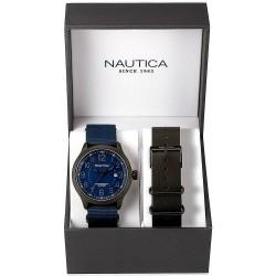 Nautica Herrenuhr NCC 01 Date Box Set NAI14519G