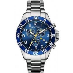 Nautica Herrenuhr NST 19 NAI17508G Chronograph