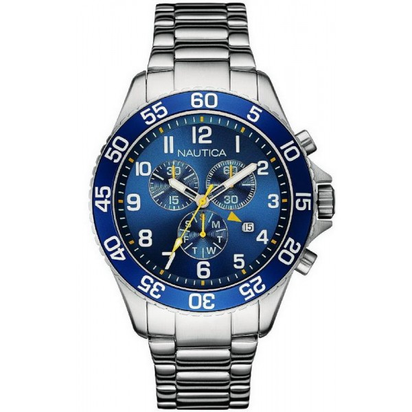 Kaufen Sie Nautica Herrenuhr NST 19 NAI17508G Chronograph
