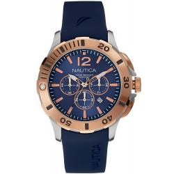Kaufen Sie Nautica Herrenuhr BFD 101 Dive Style NAI19506G Chronograph