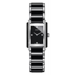 Kaufen Sie Rado Damenuhr Integral Diamonds S Quartz R20217712 Keramik Diamanten