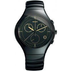 Rado Herrenuhr True Quartz Chronograph R27814152 Keramik