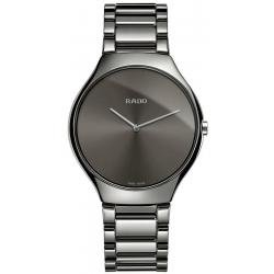 Kaufen Sie Rado Herrenuhr True Thinline L Quartz R27955122 Keramik