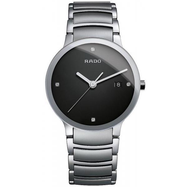 Kaufen Sie Rado Herrenuhr Centrix Diamonds L Quartz R30927713 Diamanten