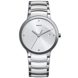 Kaufen Sie Rado Herrenuhr Centrix Diamonds L Quartz R30927722 Keramik Diamanten