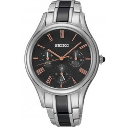 Seiko Damenuhr SKY719P1 Quarz Multifunktions