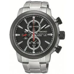 Seiko Herrenuhr Neo Sport Alarm Chronograph Quartz SNAF47P1