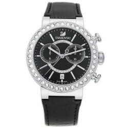 Kaufen Sie Swarovski Damenuhr Citra Sphere Chrono Black 5027131 Chronograph