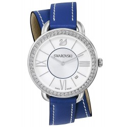 Kaufen Sie Swarovski Damenuhr Aila Day Double Tour Blue 5095944