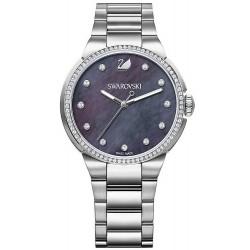 Kaufen Sie Swarovski Damenuhr City Grey 5205990 Perlmutt