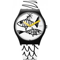 Swatch Unisexuhr Gent Pesciolini GB303