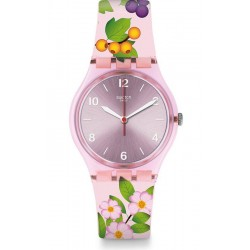 Swatch Damenuhr Gent Merry Berry GP150
