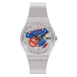 Swatch Uhr Gent Take Me To The Moon NASA GZ355