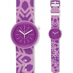 Swatch Damenuhr FlocPOP PNP102