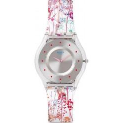 Swatch Damenuhr Skin Classic Jardin Fleuri SFE102 kaufen
