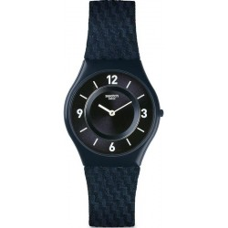 Kaufen Sie Swatch Herrenuhr Skin Classic Blaumann SFN123