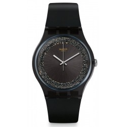 Swatch Damenuhr New Gent Darksparkles SUOB156