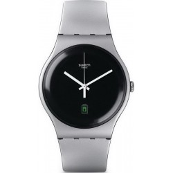 Swatch Unisexuhr New Gent Be Charged SUOB401