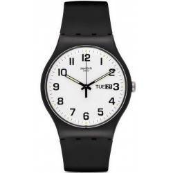 Swatch Unisexuhr New Gent Twice Again SUOB705