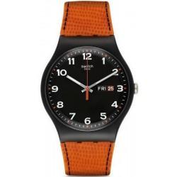 Swatch Herrenuhr New Gent Faux Fox SUOB709